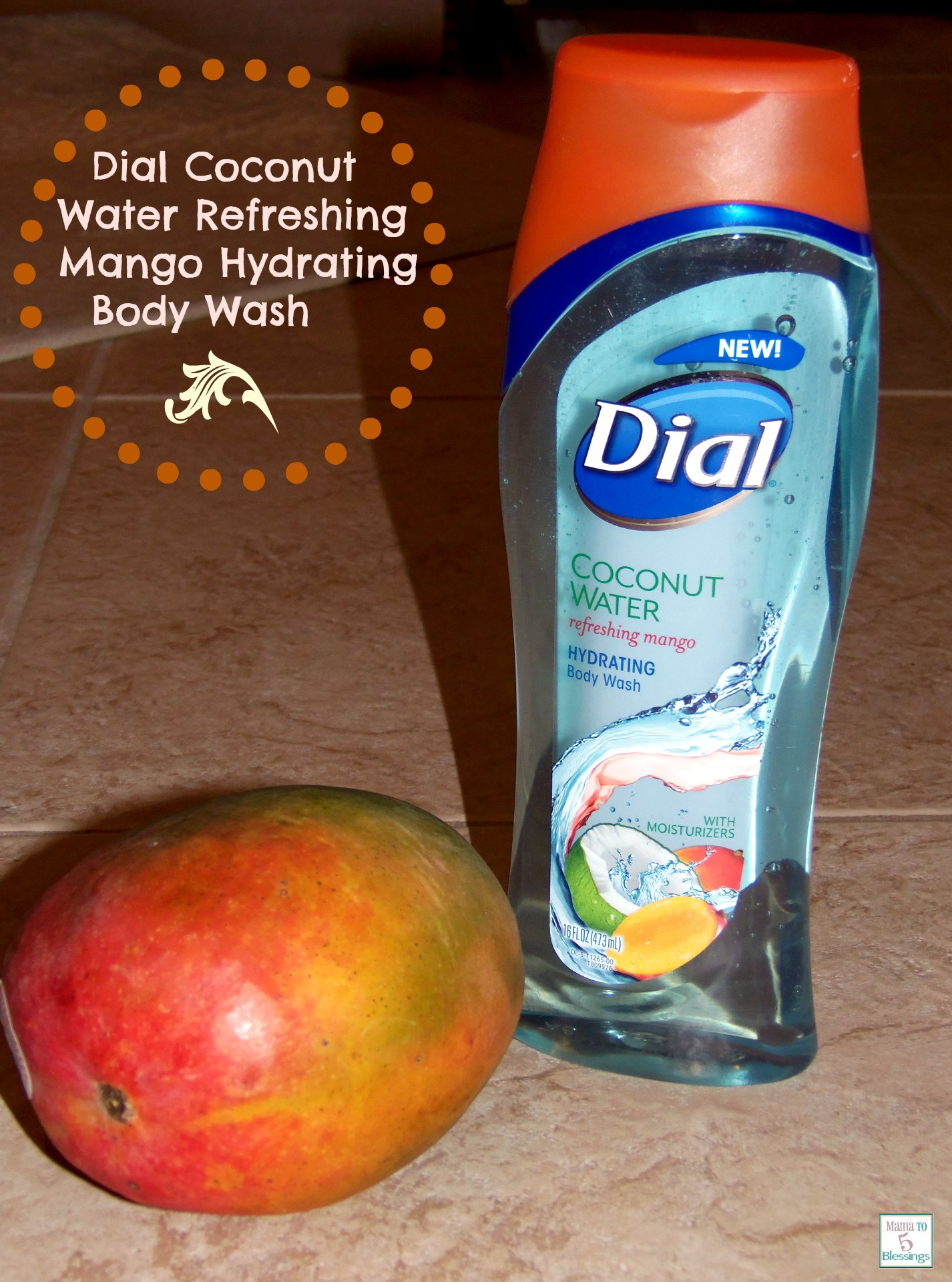 dial coconut mango wash use