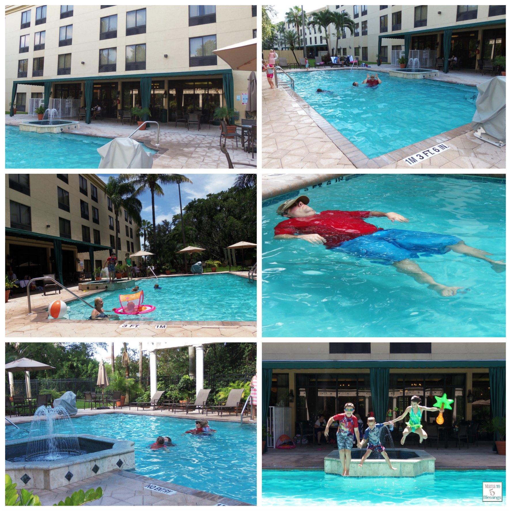 hampton inn bb pool