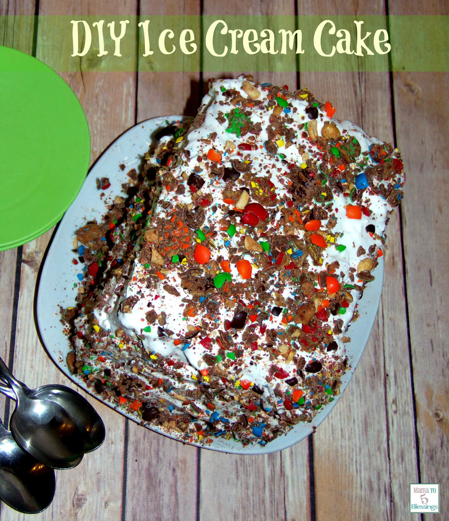 ice cream cake DIY use