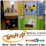 Teach My Learning Sets (Animals, Telling Time, Planets & Continents) Giveaway