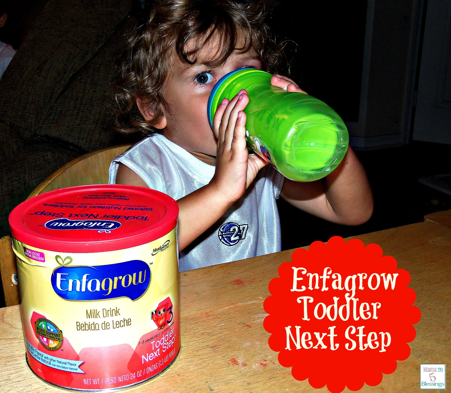 Enfagrow Toddler Next Step Luke