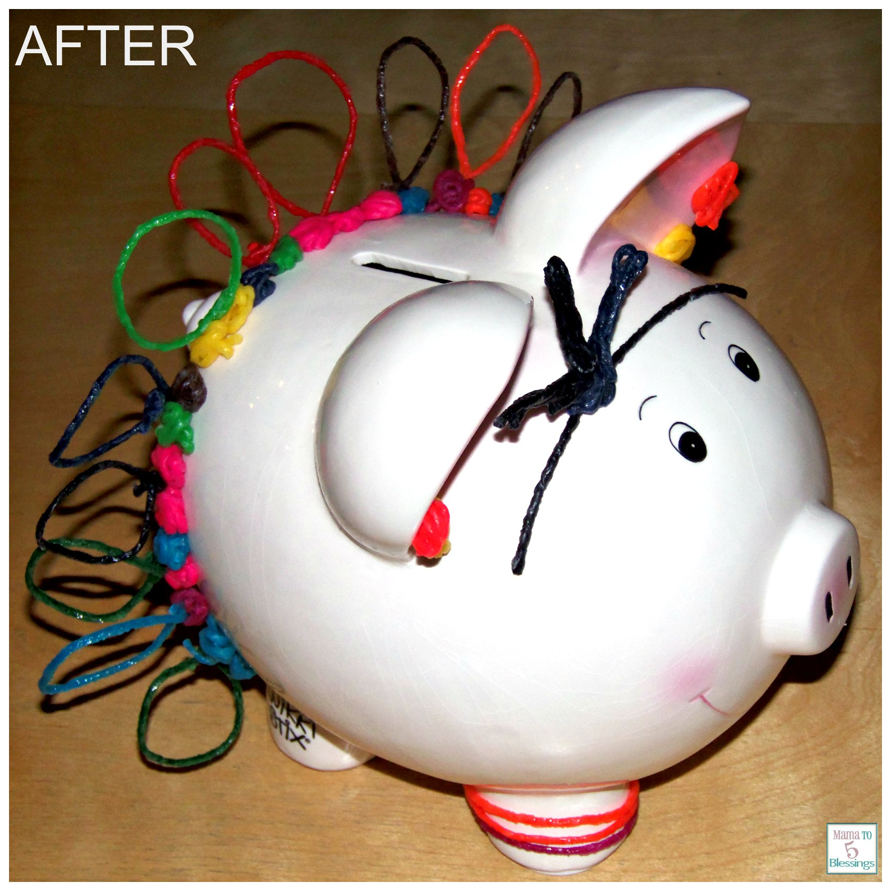 wikki stix piggy bank
