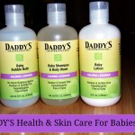 Daddy's Health & Skin Care For Babies (Giveaway)
