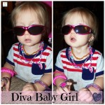 Diva Baby Girl (Almost) Wordless Wednesday With Linky