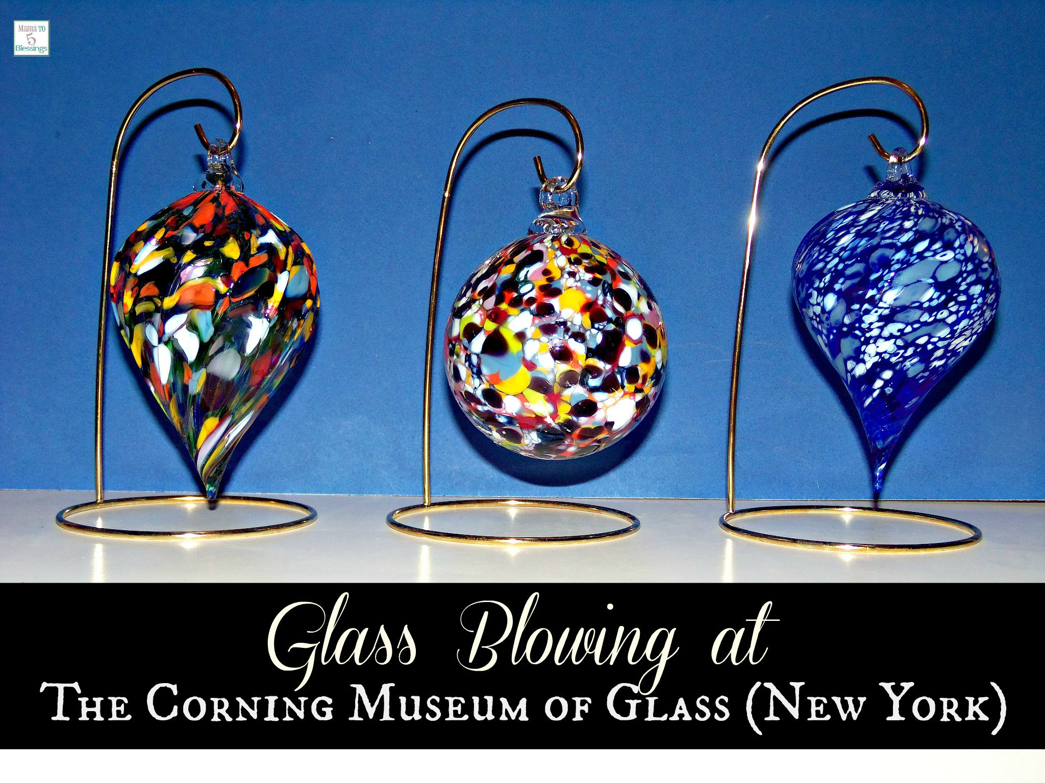 corning glass blowing a