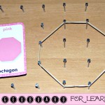 DIY Geoboard – Fun Inexpensive Way To Teach Kids Math (Learn & Link)