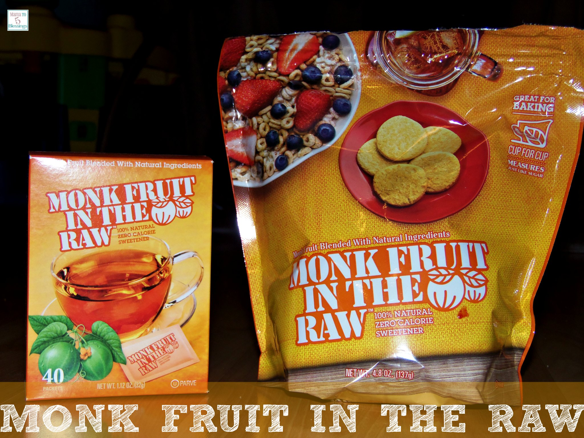 monk fruit extract healthy snacks with fruit