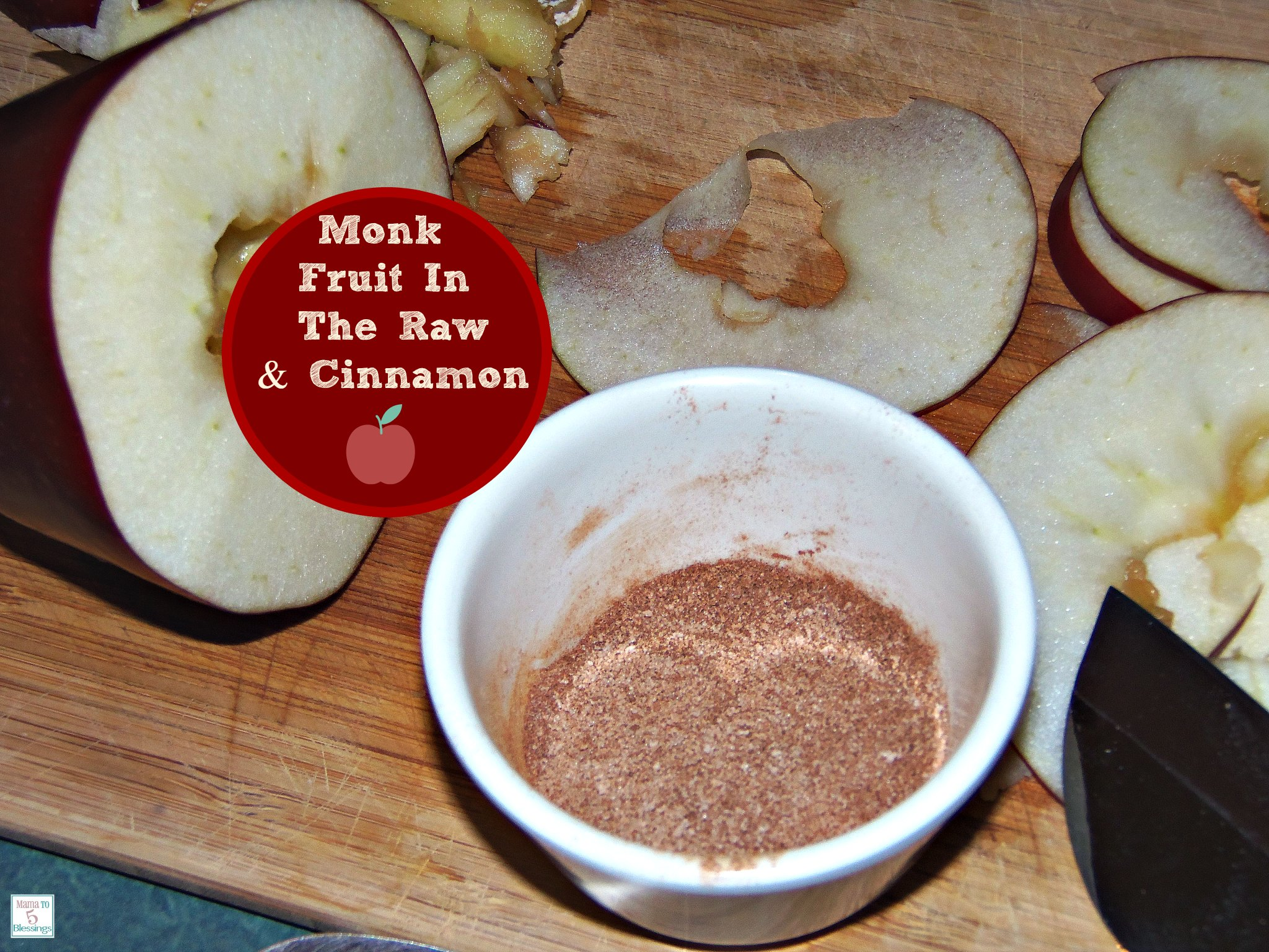 monk fruit with cinnamon