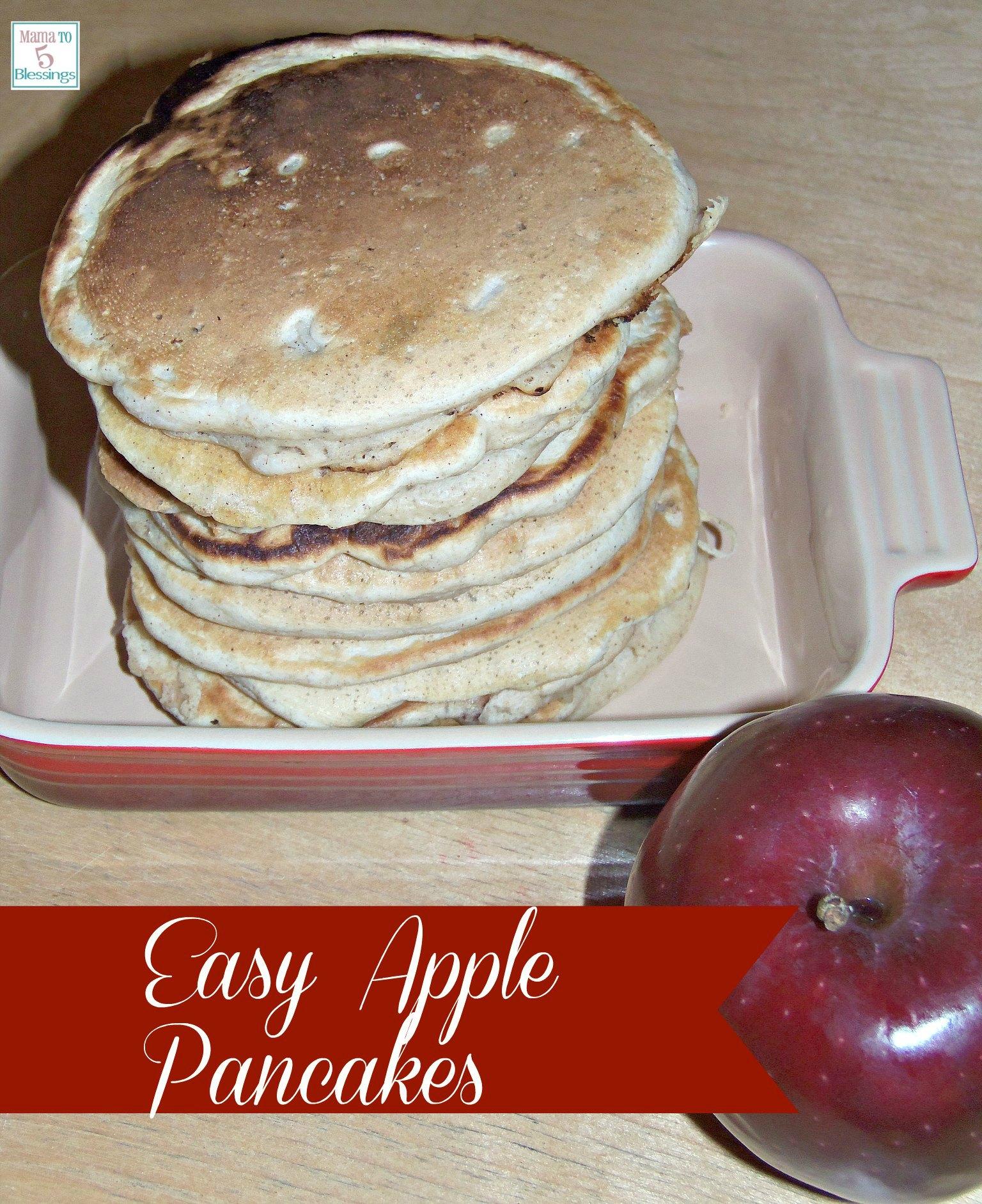 apple pancakes use