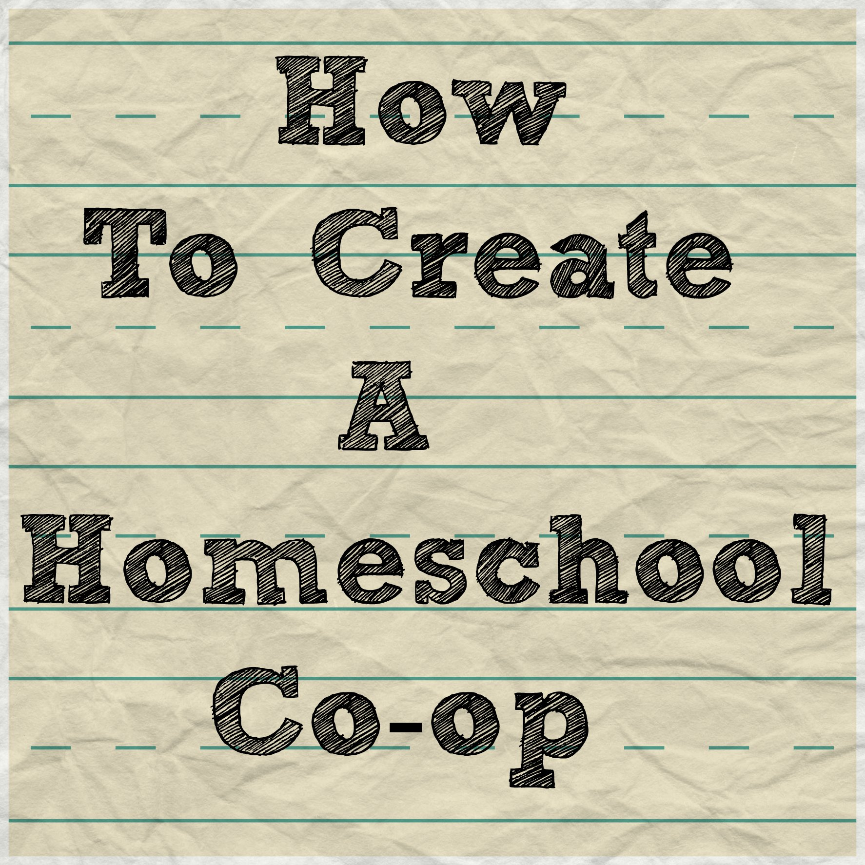 create a co-op