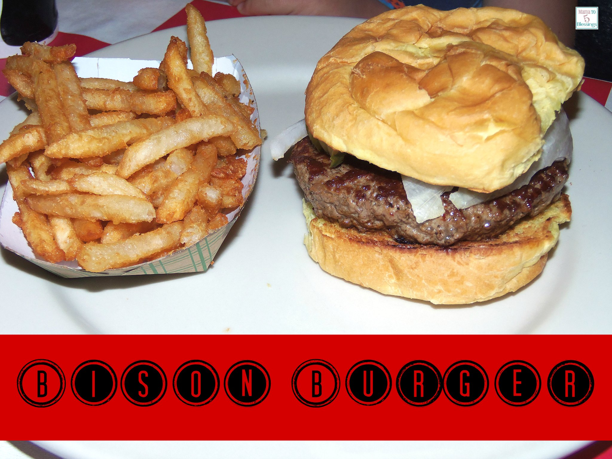 johnny angels bison burger