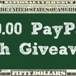 $50.00 Paypal Cash Giveaway
