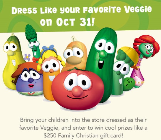 veggietales dress up
