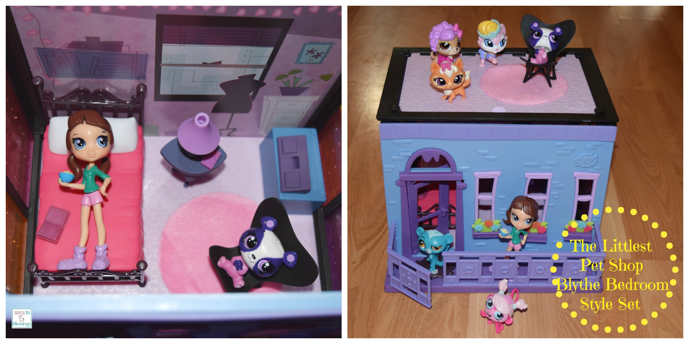 Creative Play With The Littlest Pet Shop Toys/Sets # ...