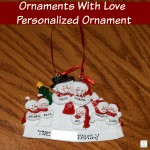 Personalized Ornaments With Love Ornaments (Giveaway)