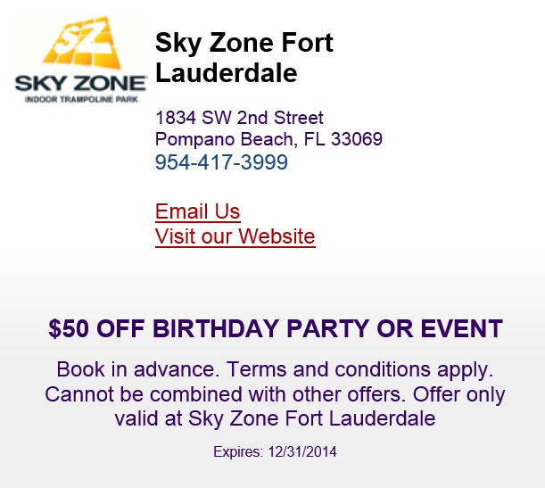 Sky zone coupon code retailmenot