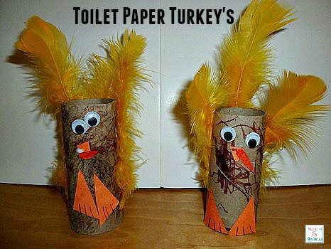 toilet paper turkey's