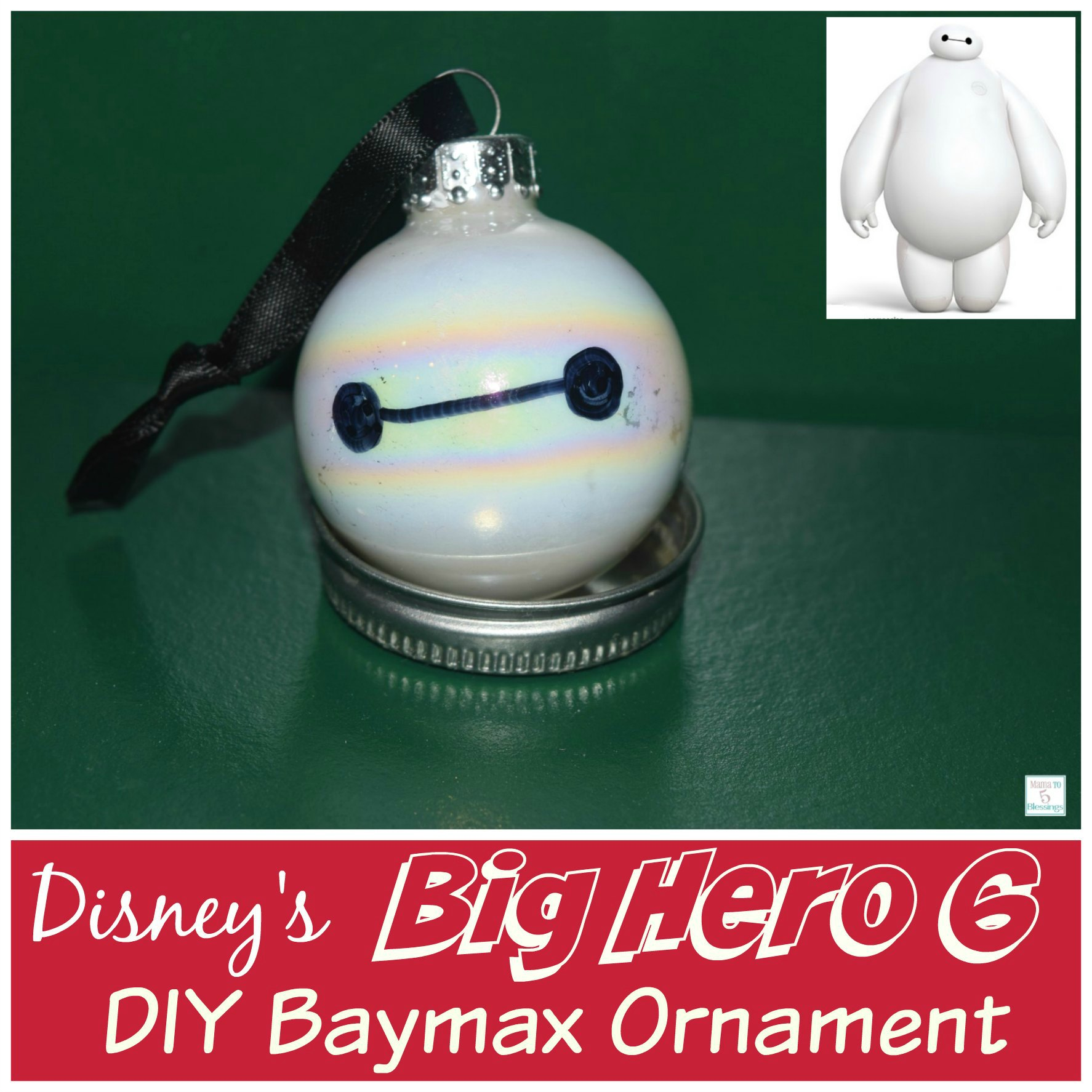 baymax ornament a