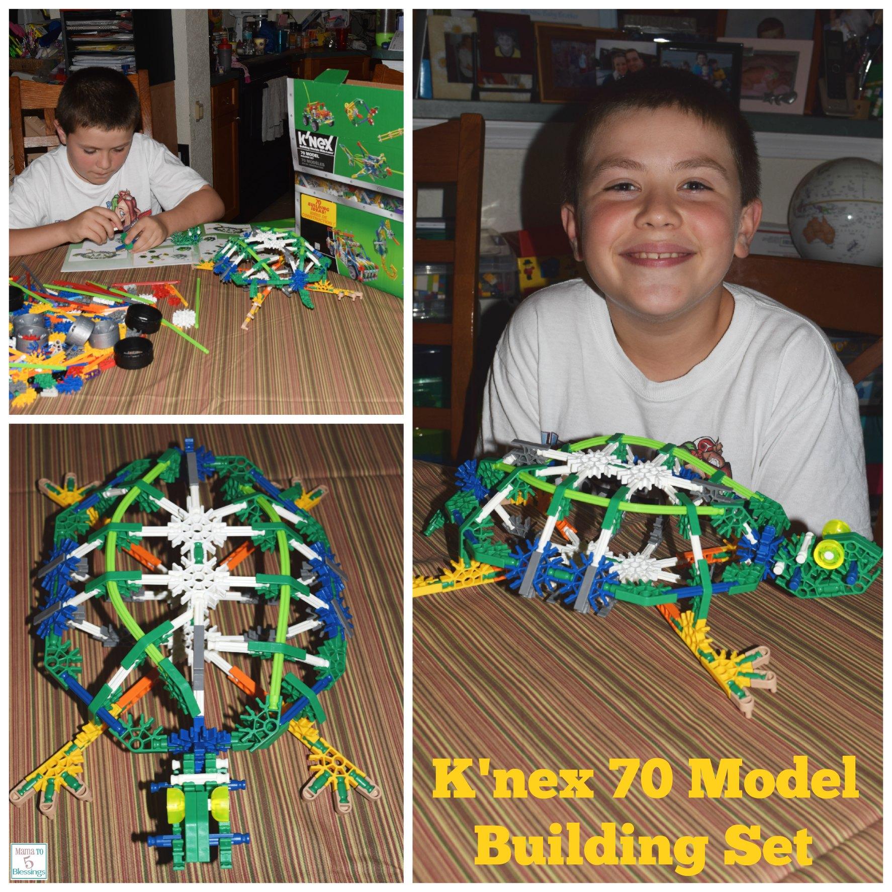 k'nex model collage