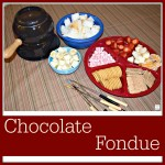 Family Time Memories With Chocolate Fondue