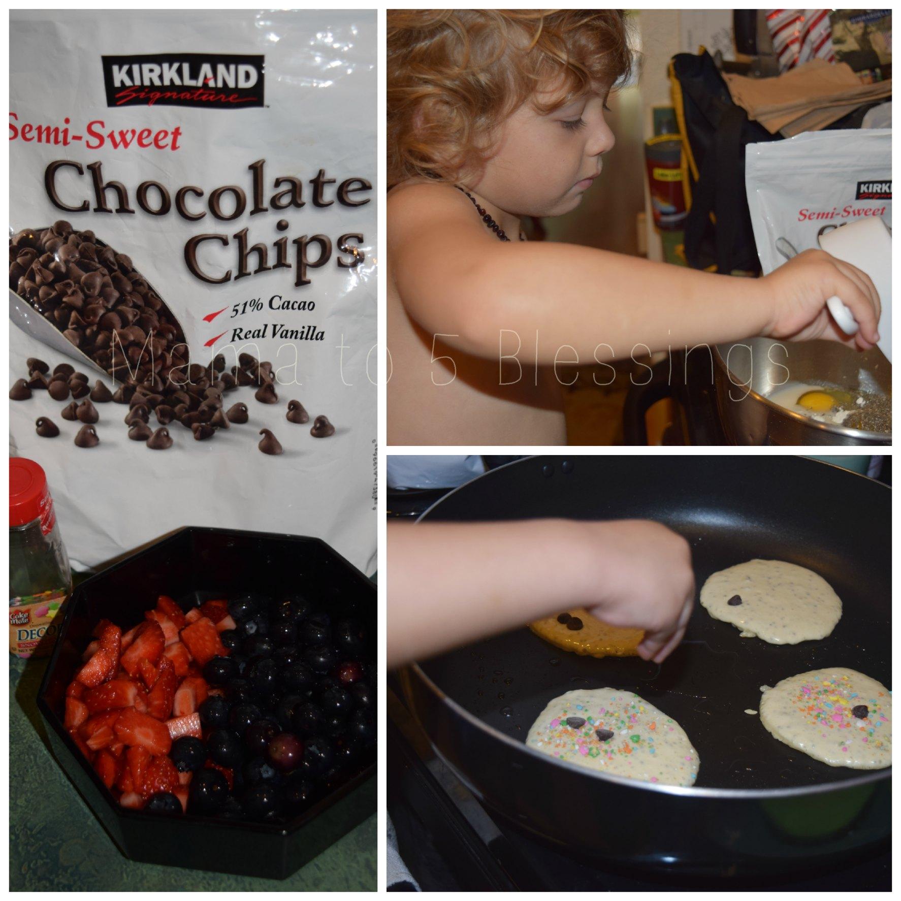 eric carle pancake collage