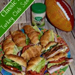 Classic Ranch Turkey Club Sandwich #NaturallyFresh (Recipe)