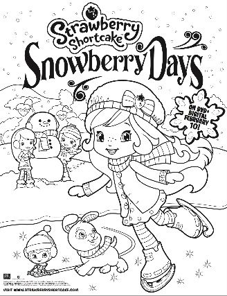 strawberry shortcake snowberry days color