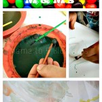 Painting With M & M's  Chocolate Candy (Learn & Link)