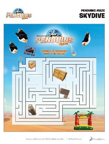 penguins pg maze