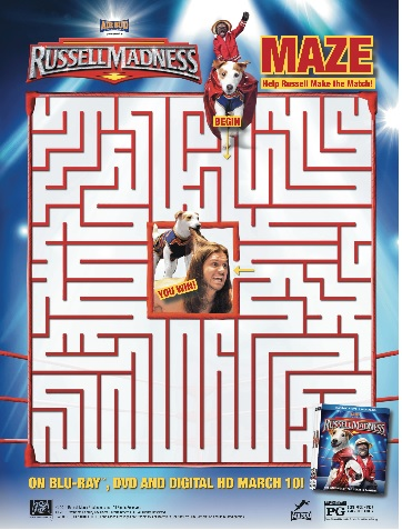 russell madness maze