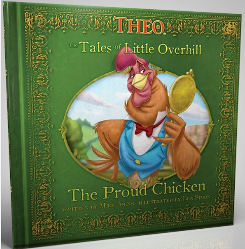 theo - proud chicken
