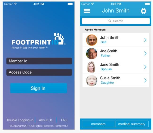 Footprint App