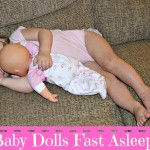 2 Baby Dolls Fast Asleep (Almost Wednesday) Wordless Wednesday With Linky