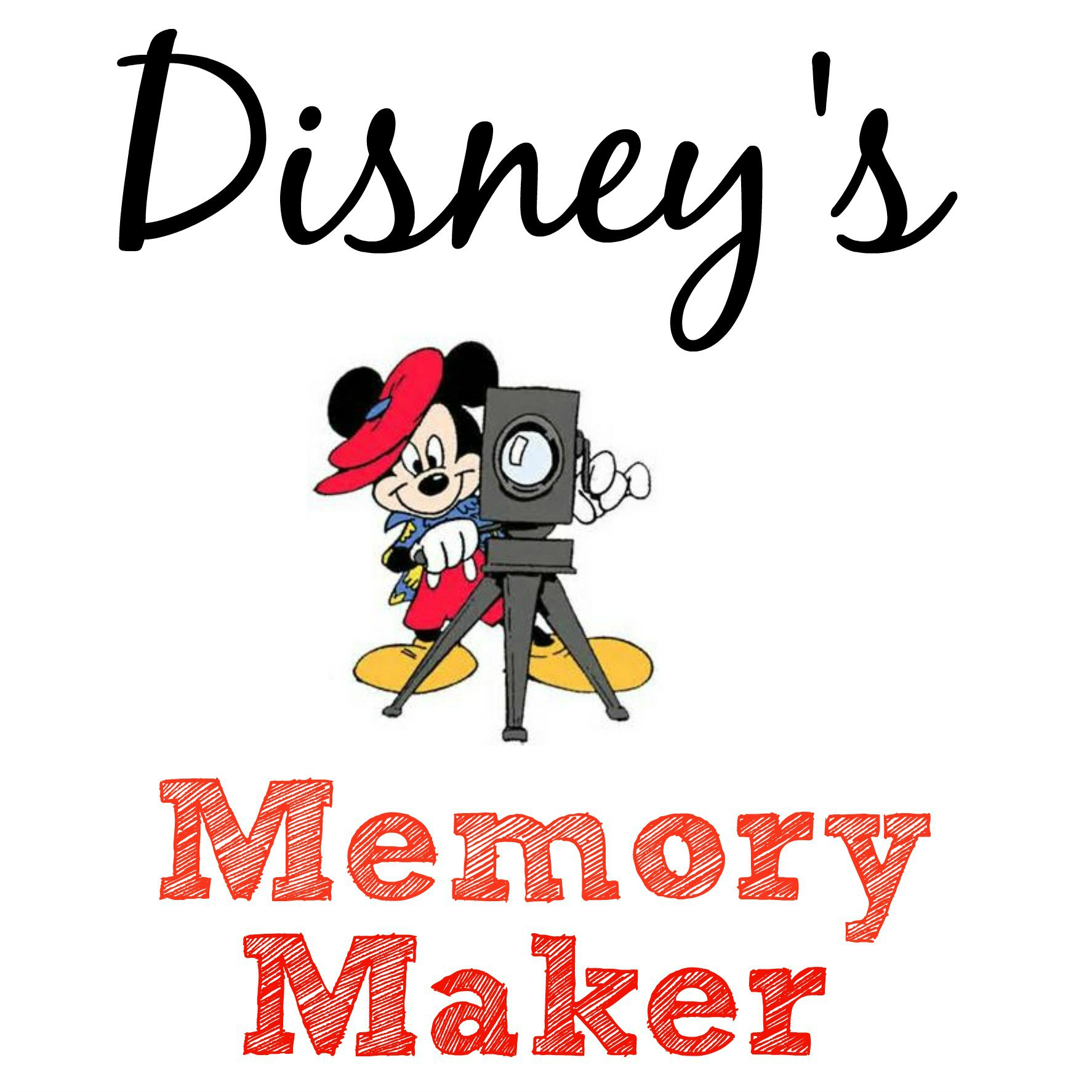 disney memory maker button