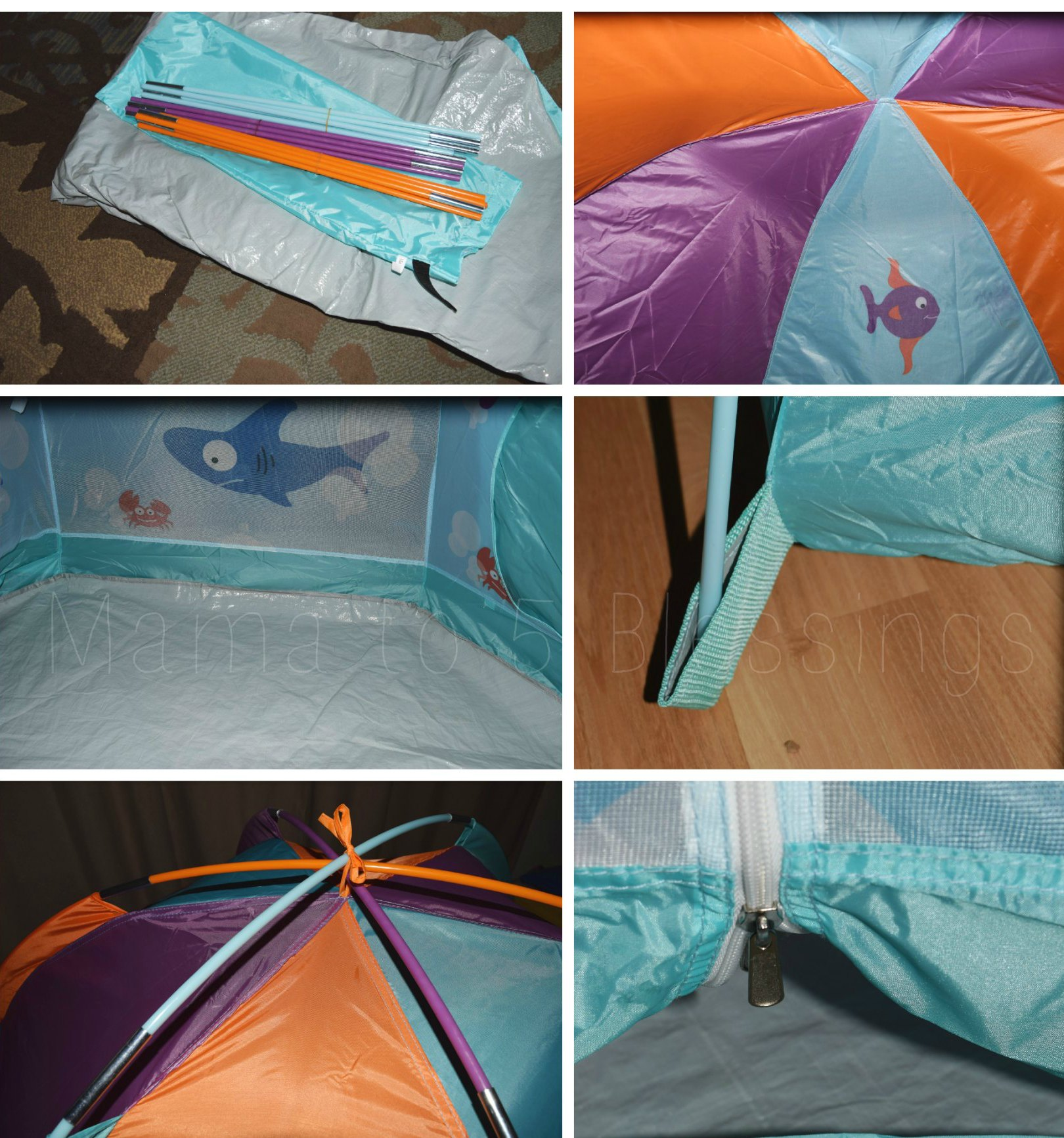 pacific play tents features A