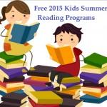reading programs summer 2015