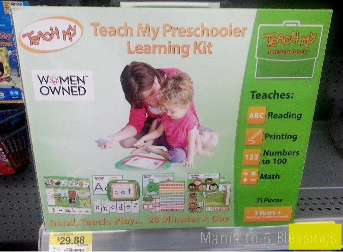 teach my preschooler walmart  a