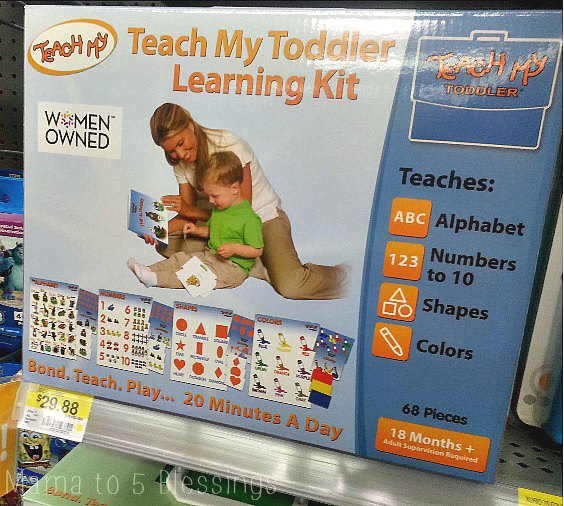 teach my toddler walmart a