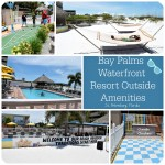 Outside Amenities @ Bay Palms Waterfront Resort For Play In The Florida Sun #SSLBloggerRoadTrip