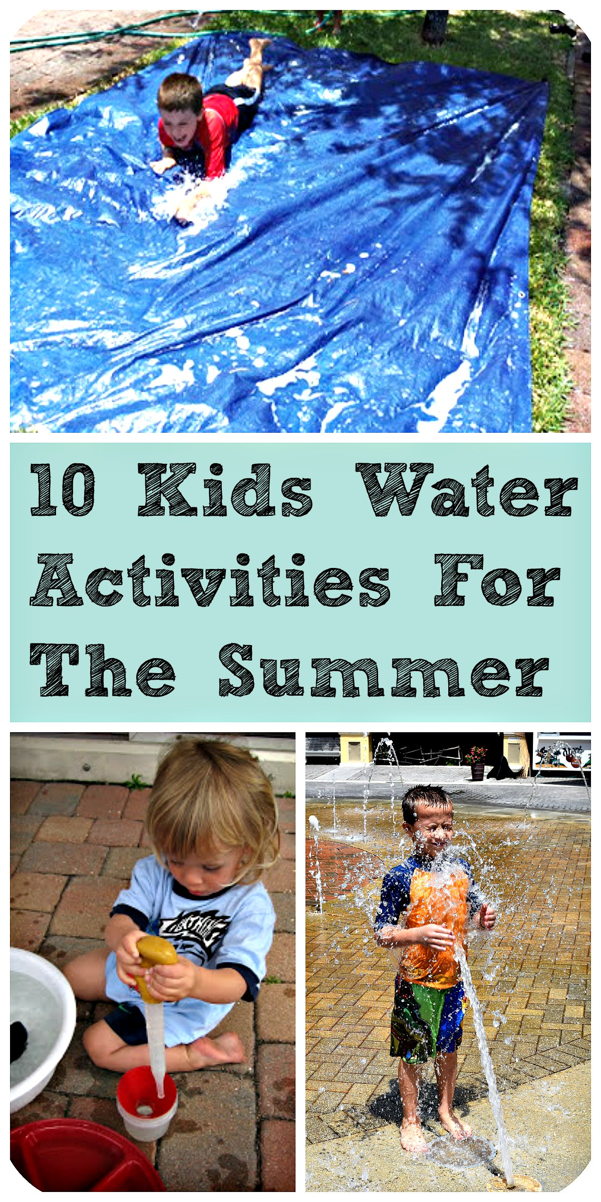 10 Summer Makeup Must Haves: 10 Kids Water Activities For The Summer