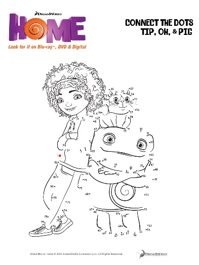 oh home movie coloring pages - photo #15