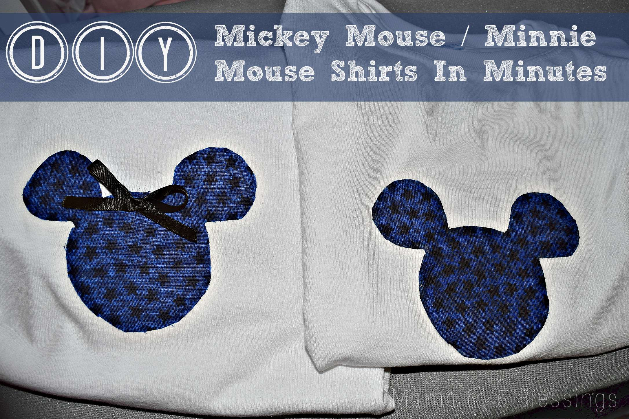 Mickey shirt buttons