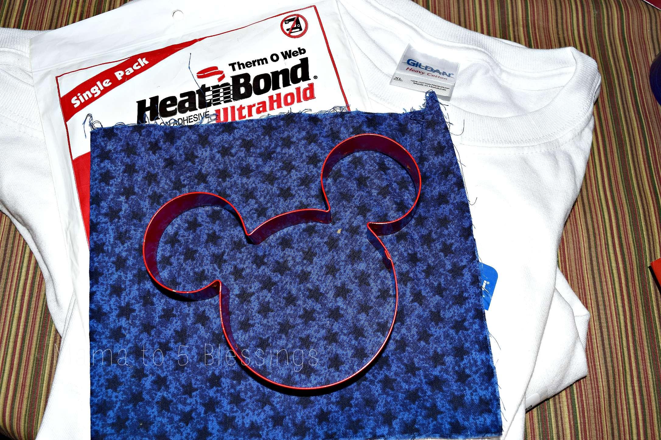 Mickey shirt materials