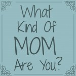 A Lesson Learned….  What Kind Of Mom Are You?