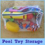 pool toy storage button