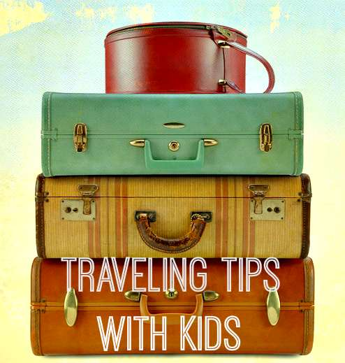 suitcases travel kids