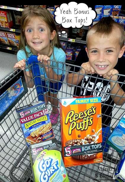 General Mills,  Box Tops, Walmart