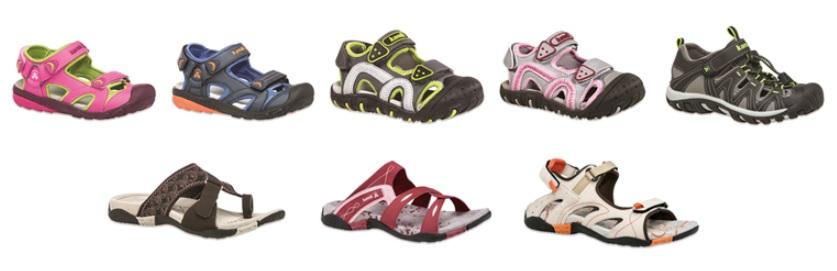kamik shoes stock