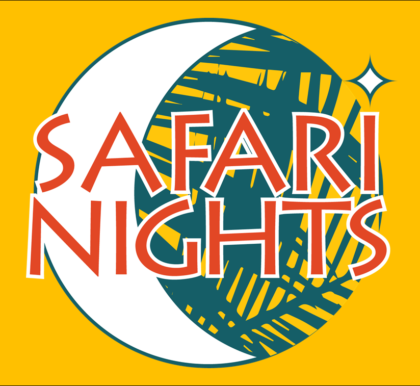 palm beach zoo safari nights logo