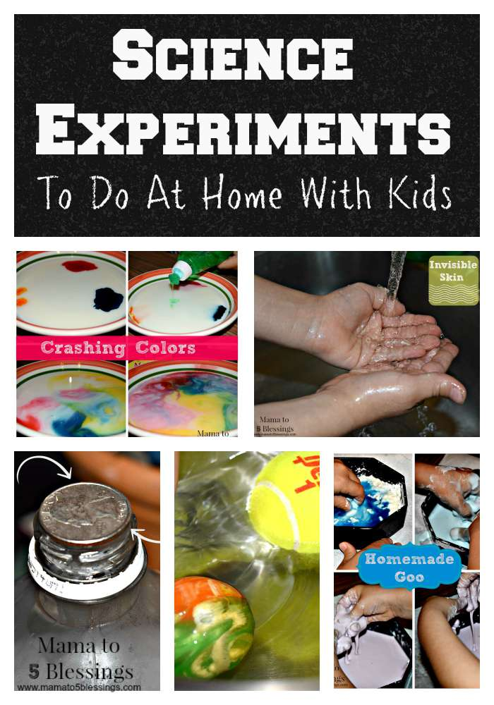 science experiment button